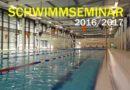 Schwimmseminar: Neuer Termin am 29.10.2016