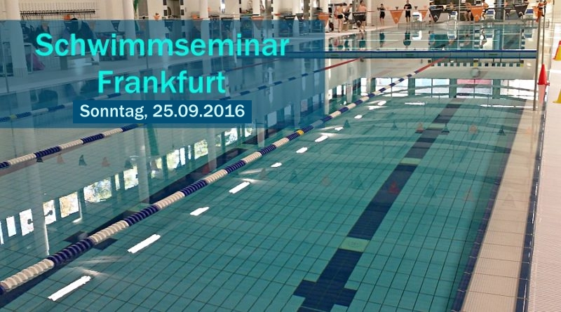 Schwimmseminar: Neuer Termin am 25. September 2016