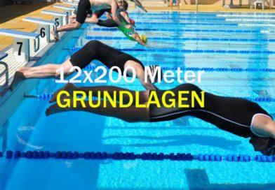 Trainingseinheit KW50/2016: Grundlagen mit 12×200 Meter
