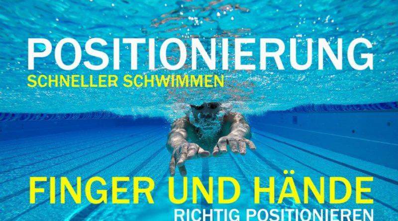 Die optimale Finger- und Handhaltung im Schwimmen