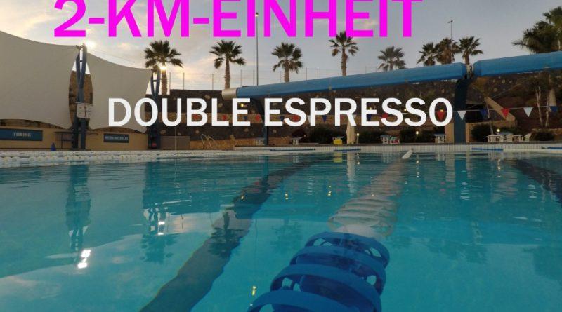 Trainingseinheit KW11/2017: Die 2-km-Espresso-Einheit