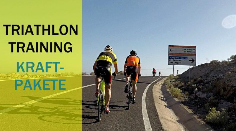 Triathlon-Training: Kraft-Pakete im Training