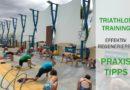Triathlon-Training: Effektiv regenerieren