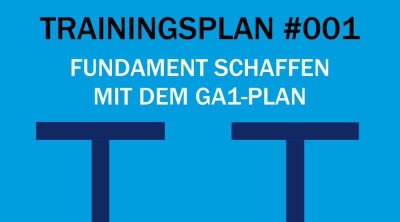 Trainingsplan #001: Grundlagen