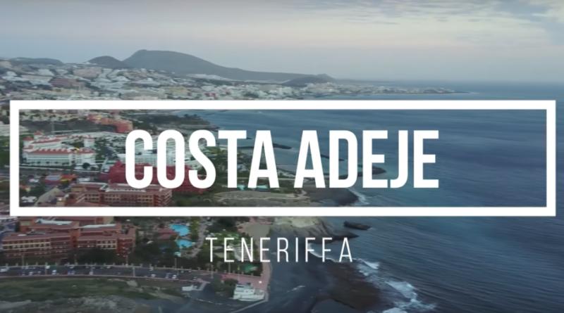Luftaufnahme Costa Adeje und Atlantik-Panorama