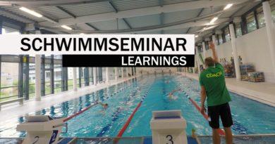 Schwimmseminar: Was kann man lernen?
