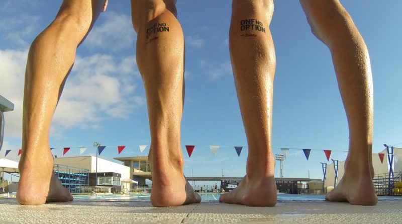 Nackt trainieren: Triathlon-Training (fast) ohne alles