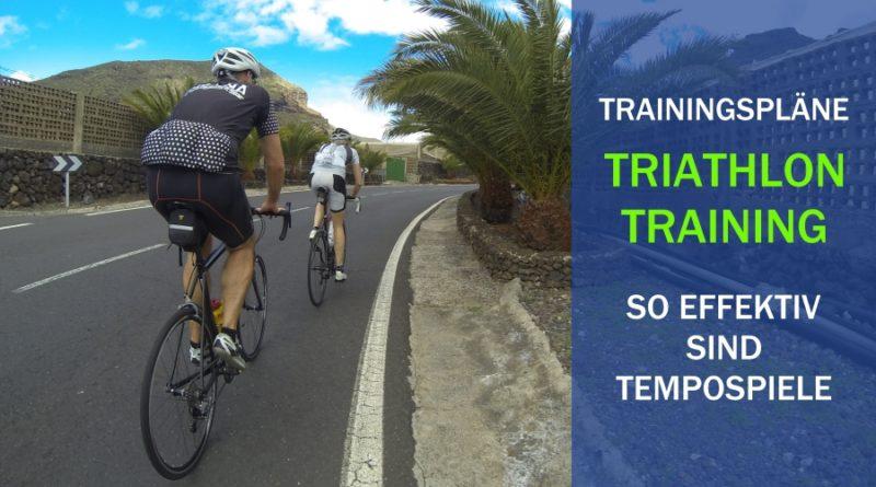 TRIATHLON: Tempospiele für mehr Speed