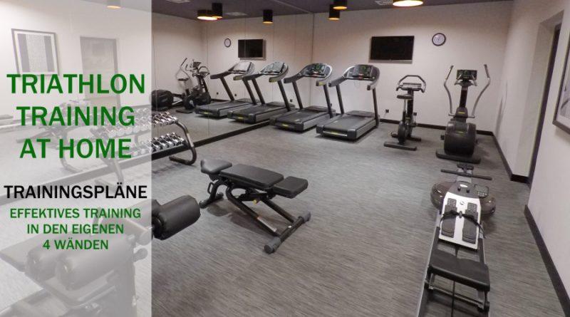 Triathlon@Home: Effektives Training in den eigenen vier Wänden