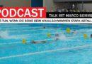 Triathlon Podcast: Was tun, wenn die Beine beim Kraulen zu stark abfallen?