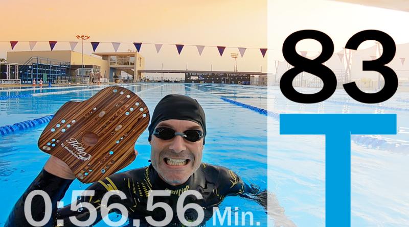 Trainingsplan #83: Wassergefühl verbessern – so geht´s , 3.100 Meter