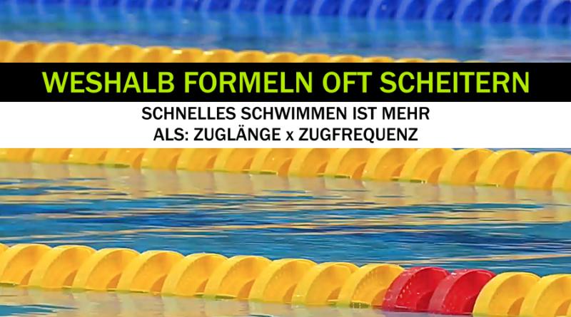 Schneller Schwimmen per Formel?