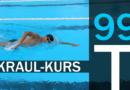 Trainingsplan #99: Kraulschwimmen Kurs 2/3, 1.900 Meter