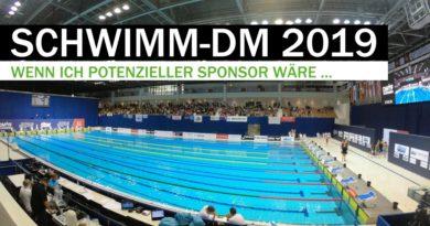 Schwimm-DM 2019: Wenn ich Sponsor wäre …