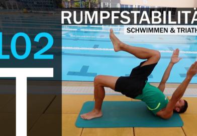 Trainingsplan #102: Stabilisations-Training für Schwimmer und Triathleten