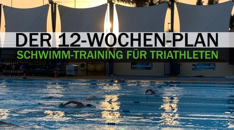 Schwimm-Training für Triathleten: Intensitäten und der 12-Wochen-Plan!
