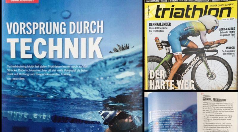 Triathlon 176: Vorsprung durch Technik