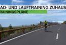 Rad- und Lauf-Training in den eigenen vier Wänden