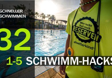 1-5 Trainings-Hacks nicht nur für das Schwimmtraining