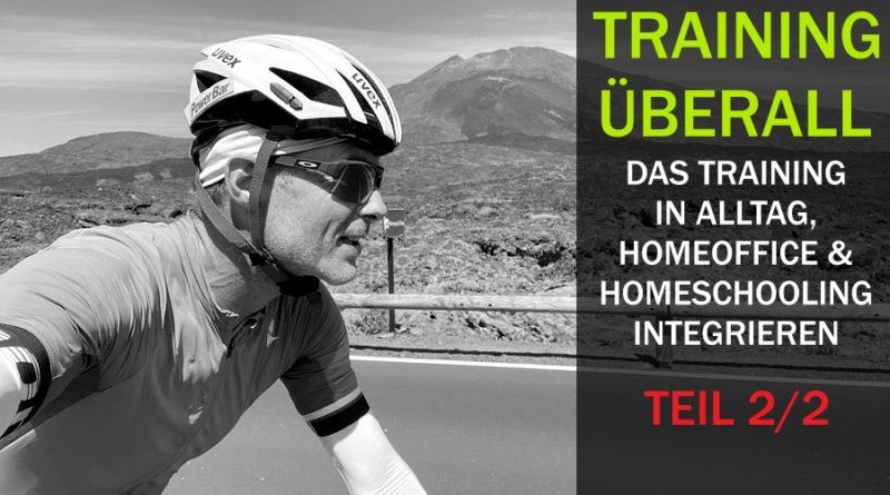 Training ÜBERALL für das Radfahren und Laufen