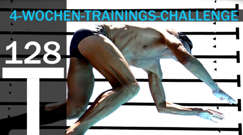 Schwimmtraining: die 4-Wochen-Challenge