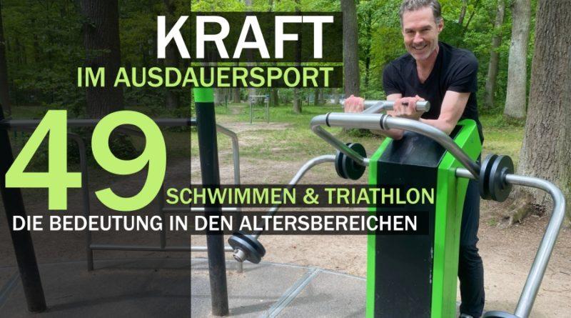 Schwimmen & Triathlon: Ausdauer durch Kraft steigern
