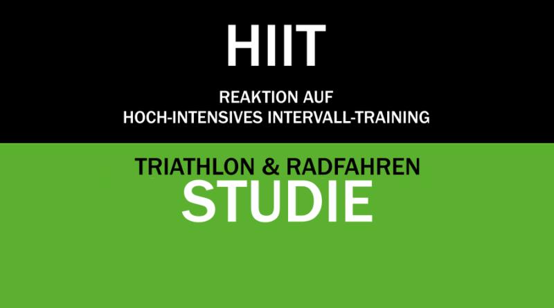 Triathlon: Reaktion auf Hoch-Intensives Training