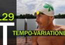 Schwimmtraining: Tempo-Variationen, 3.400 Meter