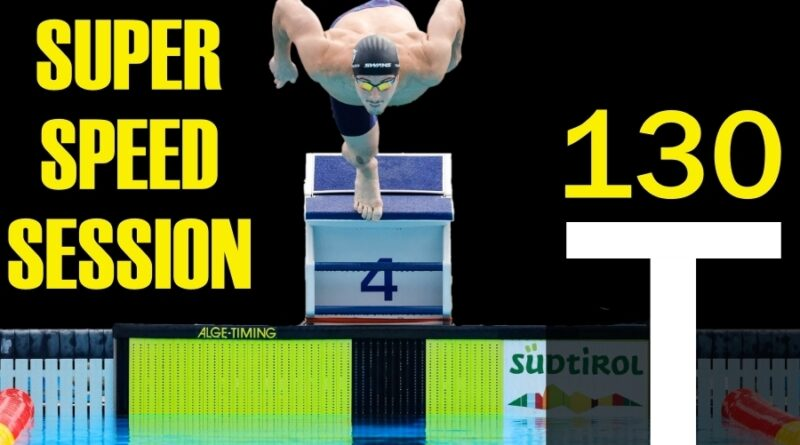 Schwimmtraining: SUPER SPEED SESSION