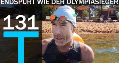 Schwimmtraining: Trainingsplan für den Endspurt